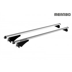 Menabo Tiger Silver Roof Bars 1.2M