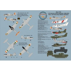 Max7220 Irish Air Corps 1956-2010 1/72 Scale Decal Sheet Instructions