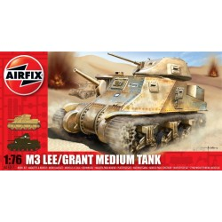 M3 Lee/Grant Medium Tank 1/76 Dis Kit Airfix A01317