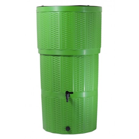 Water Butt/ 150 Litre Rattan Green