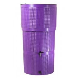 Water Butt/ 150 Litre Rattan Purple