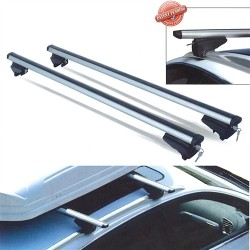 Two Silver Aluminium Bars 1.2M Long For Stubby Integrated Railings (Called Pick Up)
