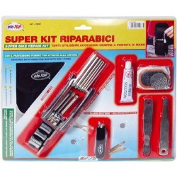 Super Bike Repair Kit With Multi Tool And Pouch