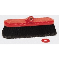 Red Pvc Car Wash Head Brush