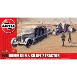 A02303 88Mm Gun And Tractor 1/76 Dis Kit Airfix A02303
