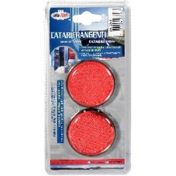 Pair Of Round Red Reflectors