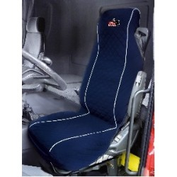 Truck Single Seat Cover Blue Universal