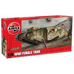 A02337 Wwi Female Tank 1/76 Dis Kit Airfix A02337