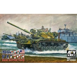 Patton Mbt M60A1 Pbond 1/35 Model Kit