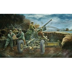 Bofors 40Mm Aa Gun Pbond 1/35 Model Kit