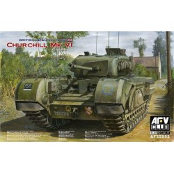 Churchill Mk Vi-75Mm Gun 1/35 Model Kit