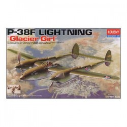 P-38F 'Glacier Girl' 1/48 Model Kit