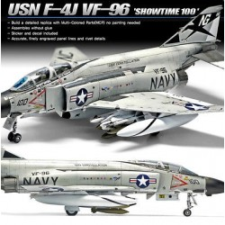 Usn F-4J Phantom Showtime 100 1/72