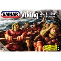 Viking Oarsmen 32 Figures 1/72