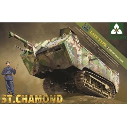 Chamond French Tank Takom 1/35