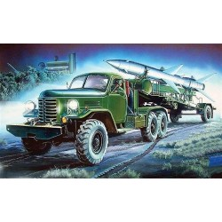 Hq-2 Missile On Truck And Trailer 1/35 Kit