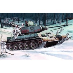 T34 Model 1942 Trumpeter 1/16