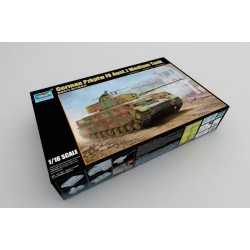 Pzkpfw Iv Ausf J German Med Tank 1/16 Kit