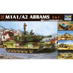 M1A1/A2 Abrams '5-In-1' 1/35 Kit