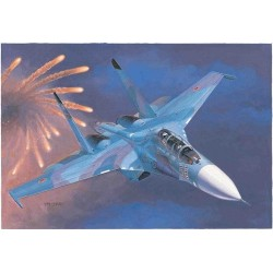 Su-27Ub Flanker C Fighter 1/72 Kit