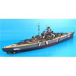 Bismarck 1/200 Scale Battleship Kit Length/ 50 Inches.