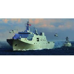 Pla Navy Type 071 Amphibious Transport Dock (Lpd) 1/350 Kit