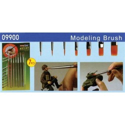 Pb Modelling Brush Set (7 Pcs)