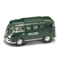 Vw Microbus Polizei Road Signature 1/43
