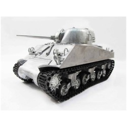 Remote Mato 1/16 Rc Sherman Tank, 1/16, Rtr, Original Metal Colour, Ir Gun System, (With T49 Duckbills)