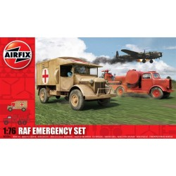 Raf Emergency Set 1/76 Dis Kit Airfix A03304