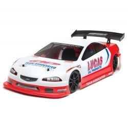 Team Associated Lucas Oil  Ae Qualifer Series Apex V-Type 4Wd Rtr W/2.4/ B-Less/ 7.2V Batt