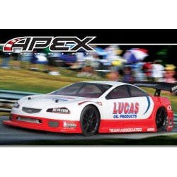 Remote RC Car 1/10 RTR Team Associated Lucas Oil Ae Qualifer Series Apex V-Type 4Wd Rtr W/2.4/ BrushLess/ 7.2V Batt