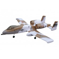 Rc Dynam A-10 Thunderbolt Rc Jet - Rtf With Twin Jets And Retracts