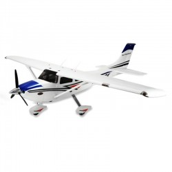 Remote Control Dynam Cessna 182 Sky Trainer 1280Mm Ready-To-Fly W/2.4Ghz Dynam 1280Mm.Free FMS Polo Shirt & FMS Base ball hat