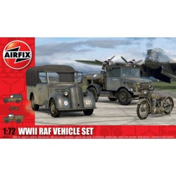 Wwii Raf Vehicle Set 1/72 Dis Kit Airfix A03311