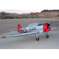 Artf Dynam At-6 Texan Harvard W/Retracts 1370Mm W/O Tx/Rx/Batt