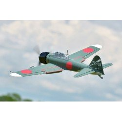 Remote Fms 1100Mm Zero Fighter Artf W/O Tx/Rx/Batt. Free FMS Polo Shirt & FMS Base ball hat