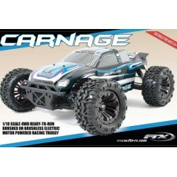 Rc Ftx Carnage 1/10 Brushless Truck 4Wd Rtr W/Lipo And Charger