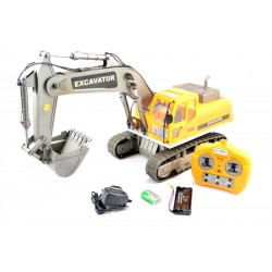 Rc Hobby Engine Full-Function Excavator 1/10
