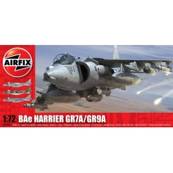 Bae Harrier Gr7A/Gr9A 1/72 Dis Kit Airfix A04050