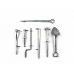 Mato 1/16 Sherman Metal Tool Set