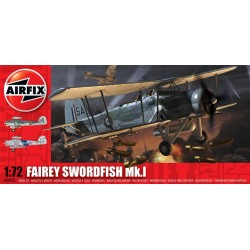 Fairey Swordfish Mk.1 1/72 Dis Kit Airfix A04053