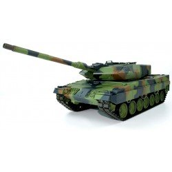 Rc 1/16 Heng Long German Leopard Ii A6 Bb Firing Rc Tank With Smoke And Sound - 2.4Ghz Version