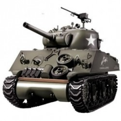1/16Th M4A3 Sherman Remote Controlled Tank With Smoke And Sound