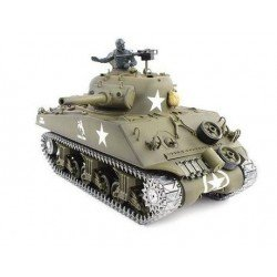 Remote Pro Version Rc 1/16Th M4A3 Sherman
