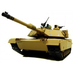 Pro Version Rc 1/16 M1A2 Abrams Rc Bb Tank With Smoke And Sound - 2.4Ghz - Metal Upgraded Pro Version