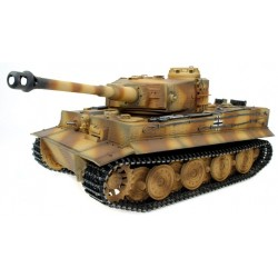Taigen Hand Painted Rc Tiger I Tanks - Metal Upgrade Version - Camo - 2.4Ghz