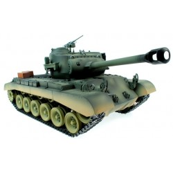 Taigen Hand Painted Rc Tanks - Metal Upgrade - M26 Pershing - With Free Extra Bbs And Smoke Liquid!
