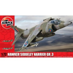 Hawker Siddeley Harrier Gr3 1/72 Dis Kit Airfix A04055