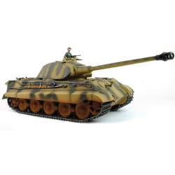 Taigen Hand Painted Rc Tank -Metal Upgrade - King Tiger - 2.4Ghz 1/16 Scale